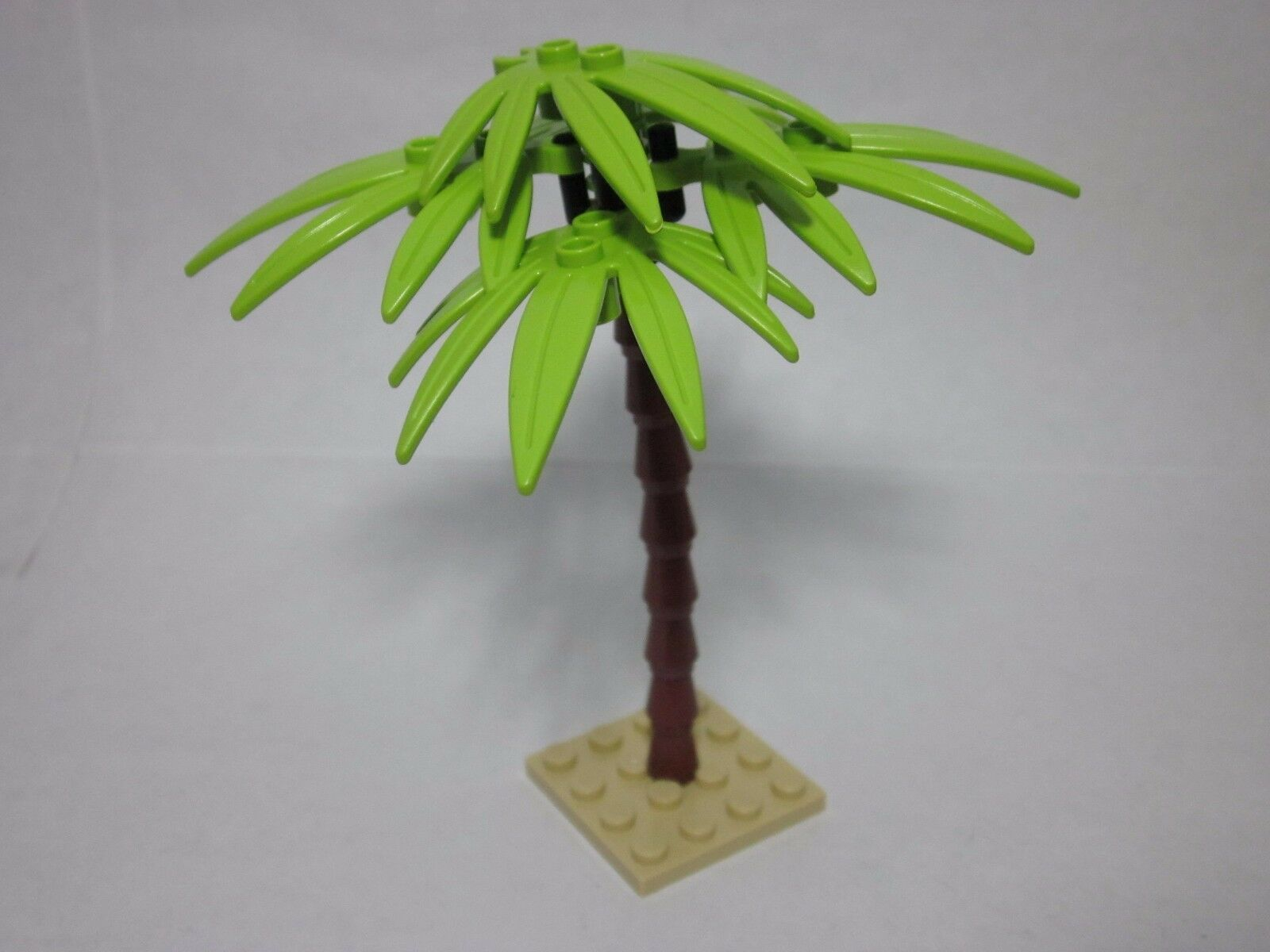 Lego Custom Forest Palm Tree Lime Green Sword Leaves New Parts