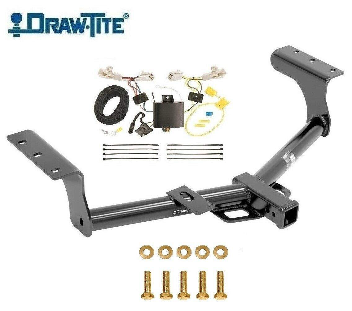 "Class 3 Trailer Hitch & Wiring For 2013-2018 Toyota Rav4 2"" Tow Receiver"