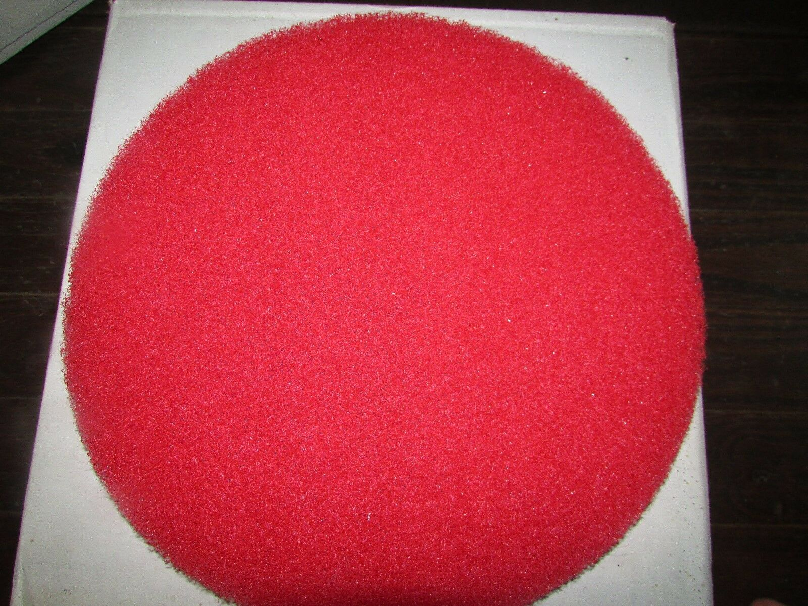 New acs industries red floor buffer pad 13 cleaning for 13 floor buffer