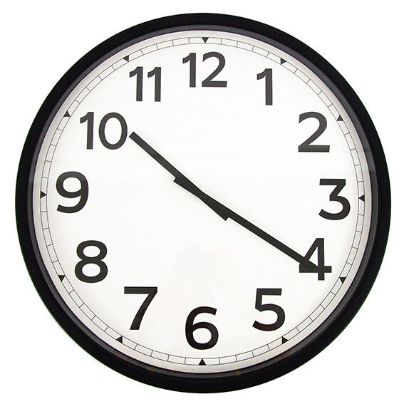 50 cm large modern wall clock home office decoration