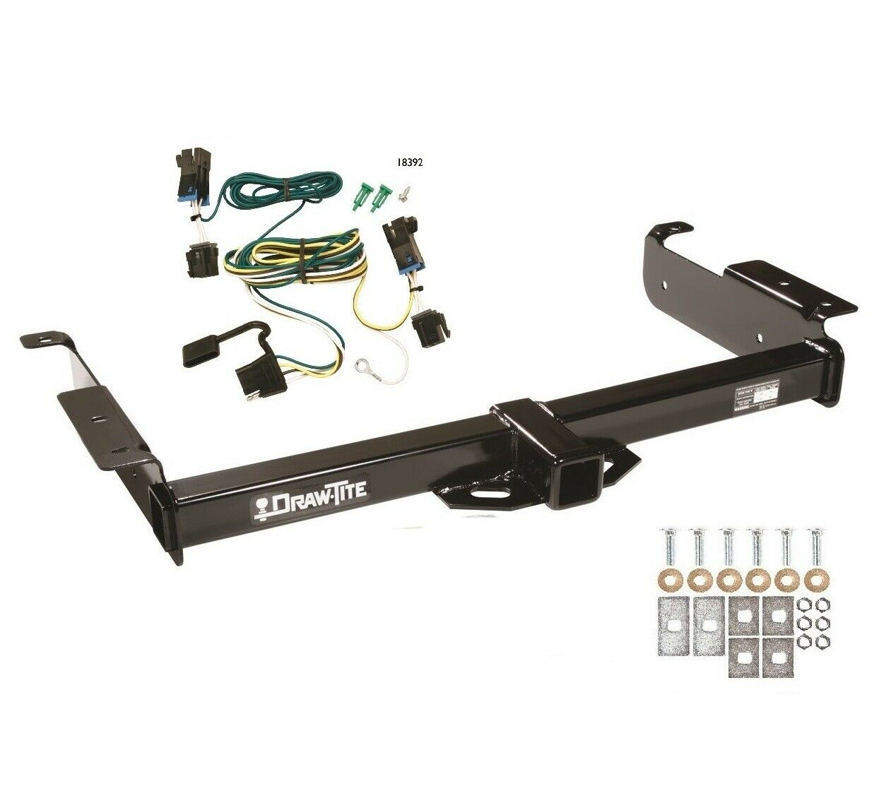 Class 3 Trailer Hitch & Wiring For 2003-2017 Chevy Express Van 2500 3500  75189 1 of 4Only 1 available See More