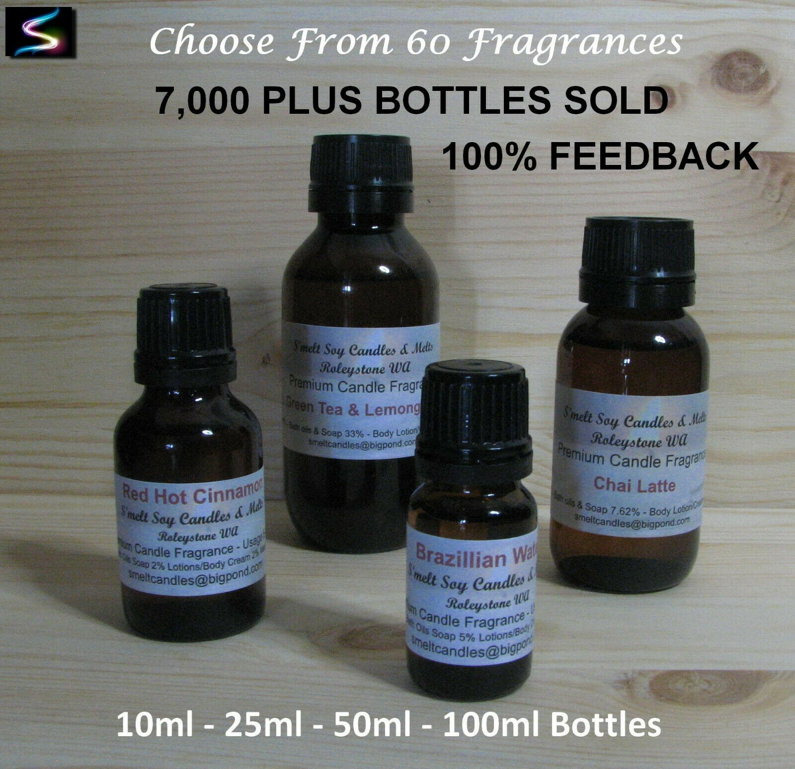 Premium Quality Fragrance Oil Candle Supplies, Soaps, Oil Burners, Soy Palm Wax