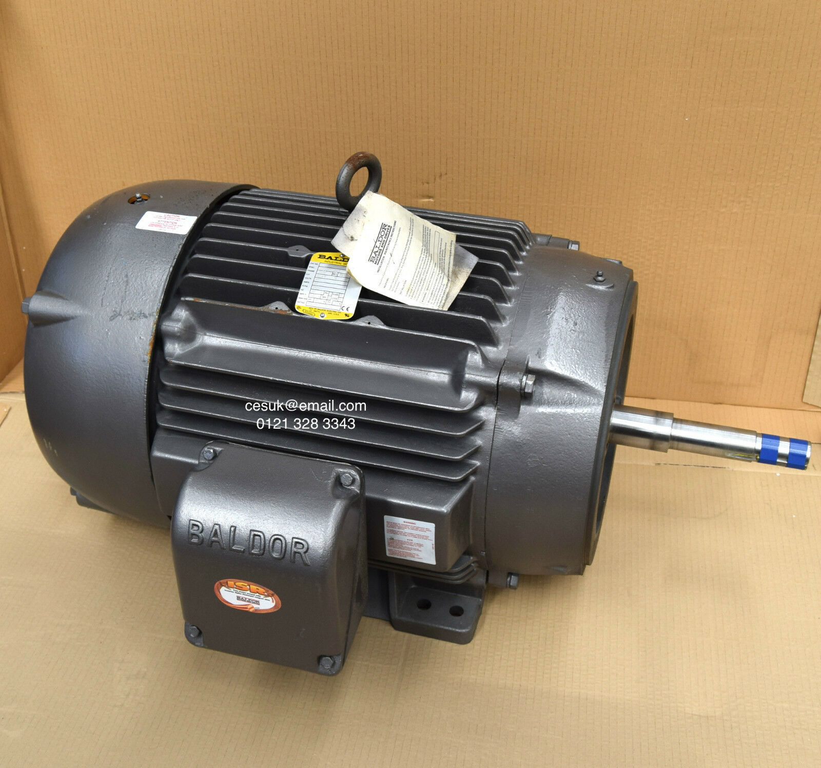 New baldor 30kw 40hp electric motor 1450rpm 4 pole 3 for 40 hp dc motor