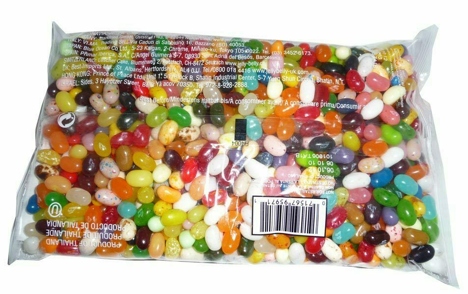 Jelly Belly 50 Flavours Asst 1kg