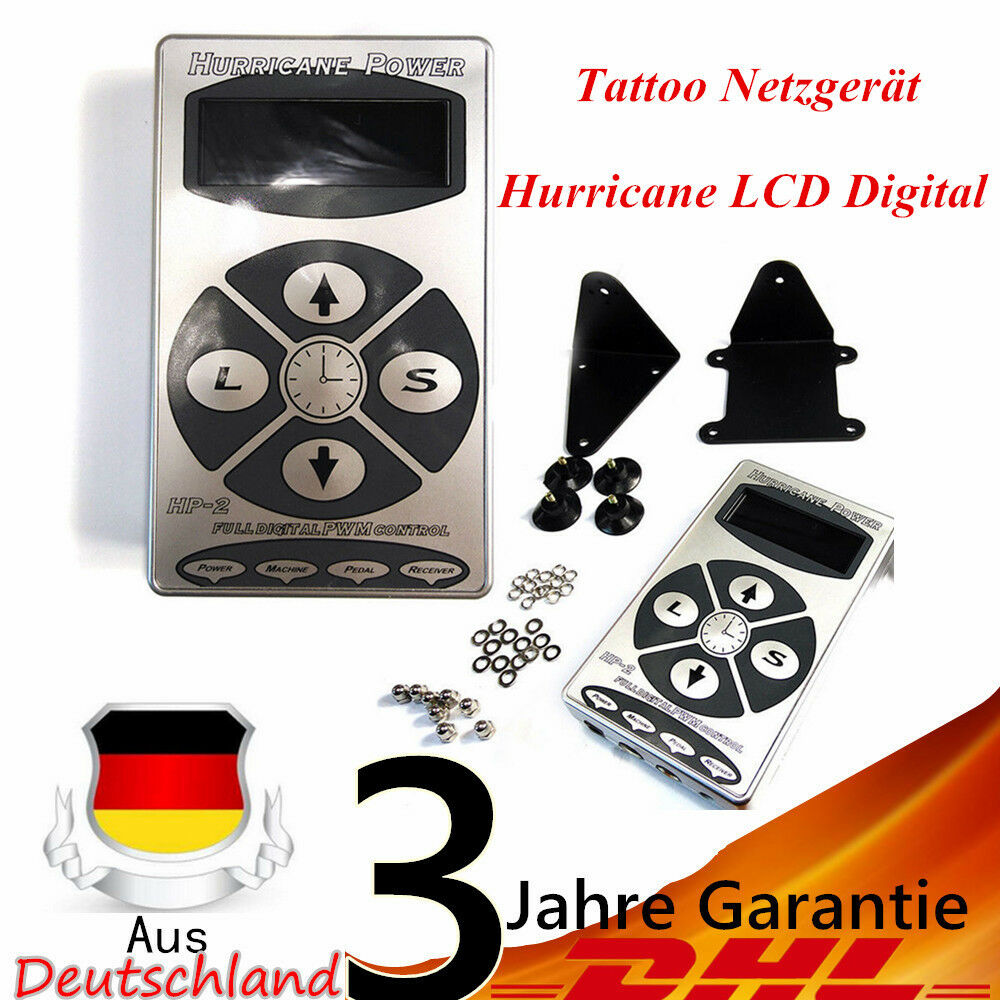 lcd netzteil f r tattoomaschine stromversorgung netzger t digital power supply eur 30 09. Black Bedroom Furniture Sets. Home Design Ideas
