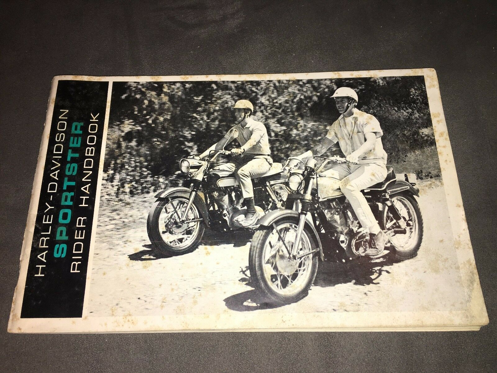 1966 66 Harley Davidson Sportster Hummer Rider Handbook Owners Manual RARE!  1 of 10Only 1 available ...