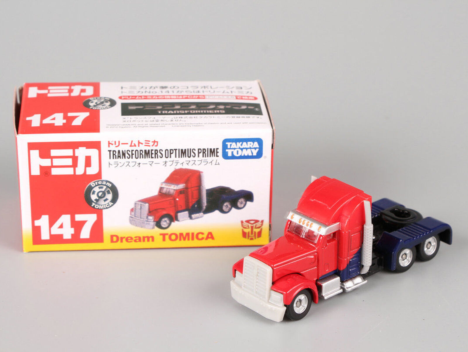 Takara Tomy Dream Tomica 147 Transformers Optimus Prime Metal Toy Initial D Skyline Gt Rr32 No 141 Car New In Box 1 Of 3free Shipping
