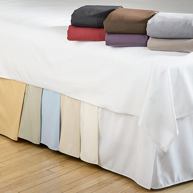 15 Inch Drop Bedskirts Twin Xl Queen King Size Bed Frame Dust Ruffle Bedskirt 1 Of 1free Shipping