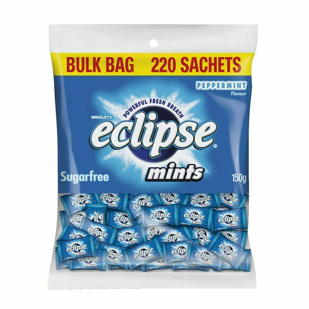 Eclipse Mints Peppermint Individually Wrapped