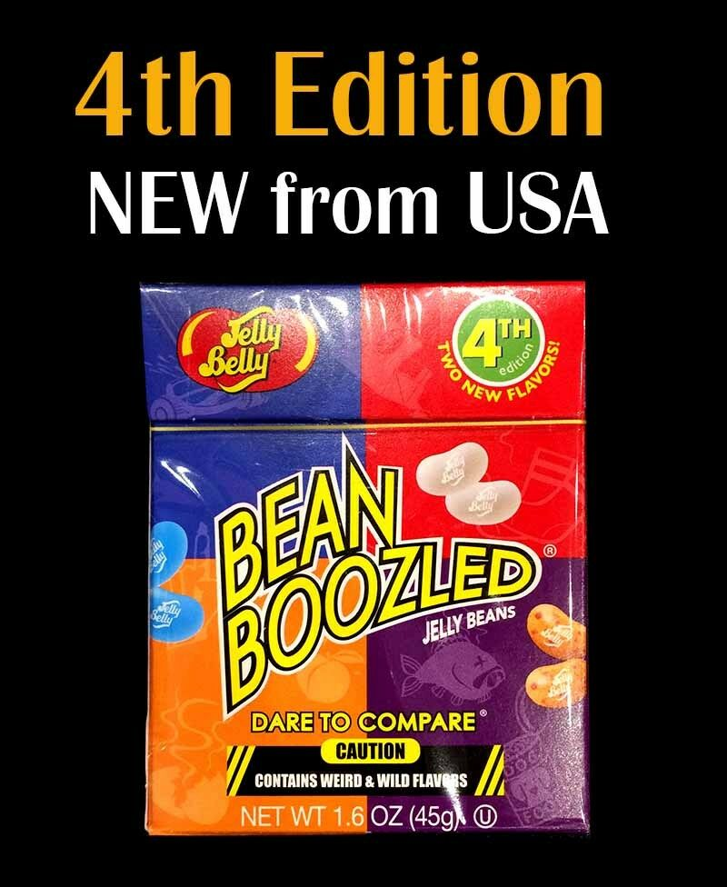 qty: 3 x Jelly Belly Bean Boozled 45g Box 4th Edition NEW from USA