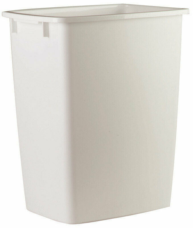 36 Qt Large Open Wastebasket Adorable OPEN WASTEBASKETNO 60TPWHT Rubbermaid Inc 60PK 6060 PicClick