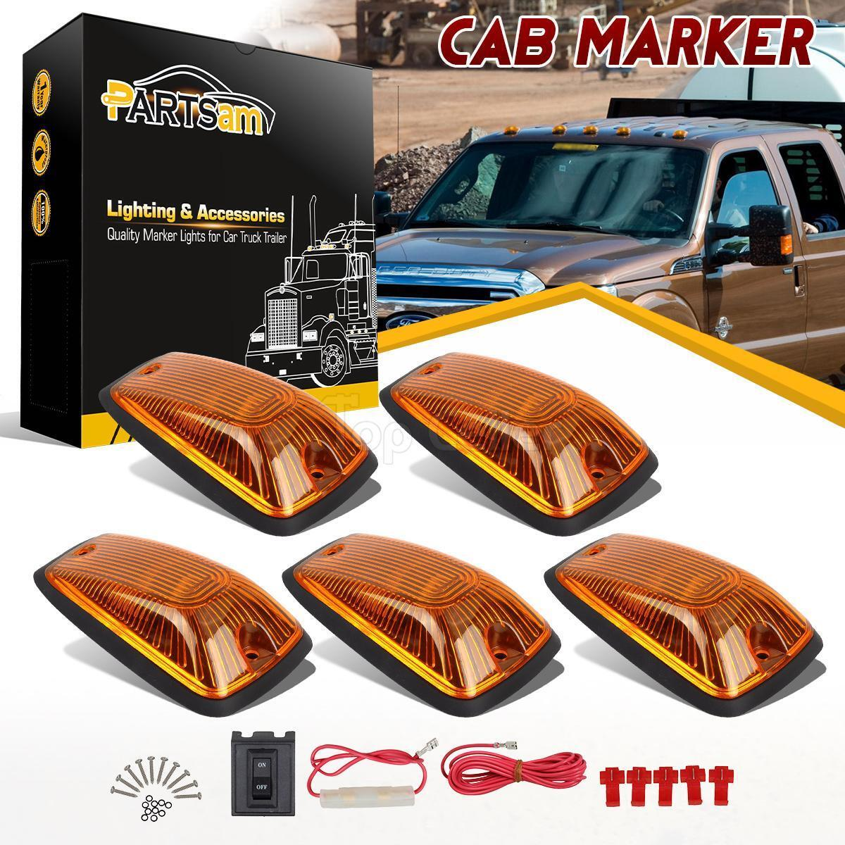 5x264159am Cab Roof Top Marker Light Amber Lens 5xbase Wiring Pack Description Three Switches With Exposed Wiringjpg 1 Of 10 See More