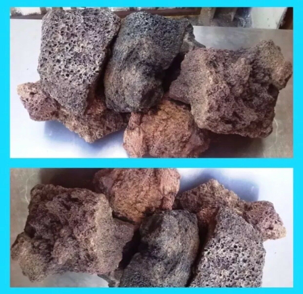 25 Kg Natural Lava Rock Ideal For Fish Tank Aquarium