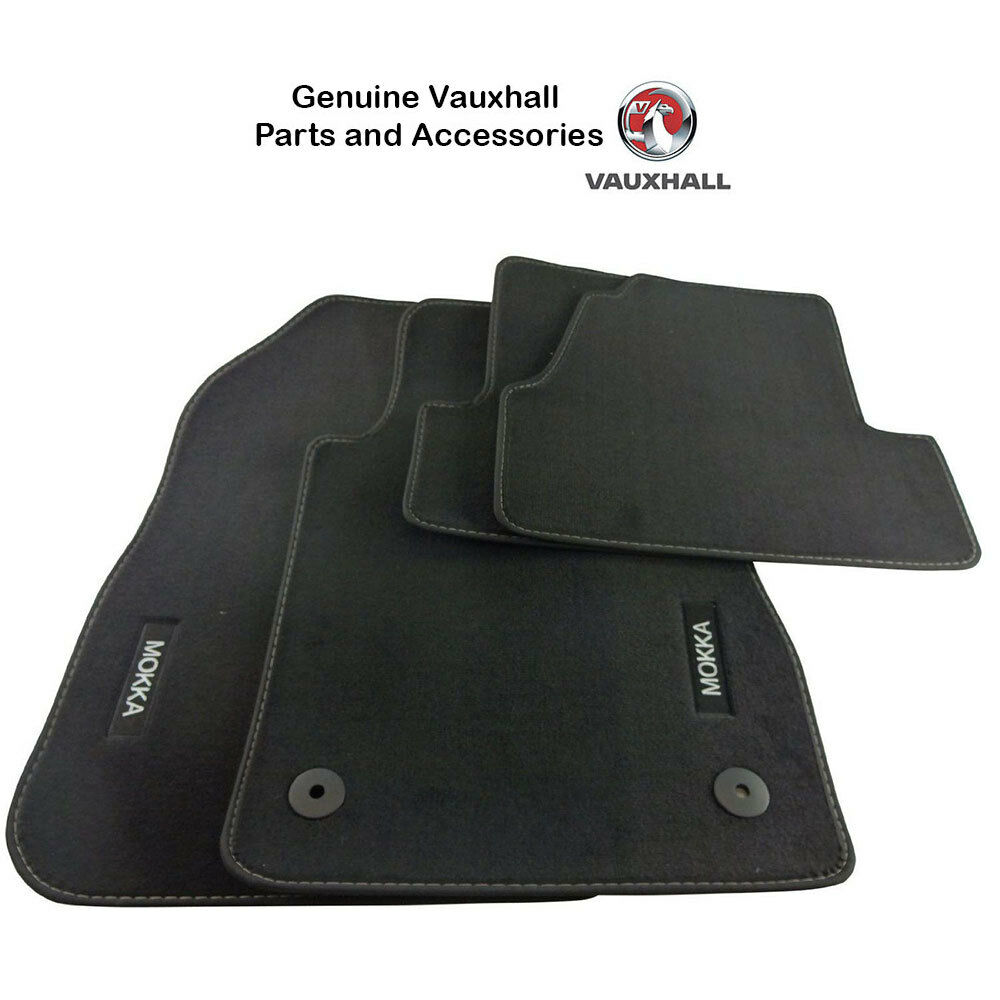 genuine vauxhall mokka mokka x tailored car mats with. Black Bedroom Furniture Sets. Home Design Ideas