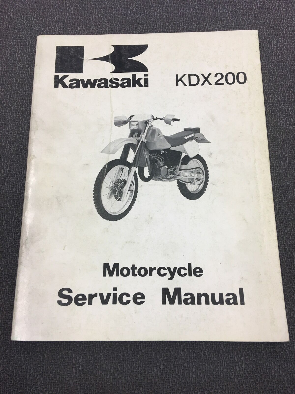 1987 Kawasaki KDX200 Service Manual 99924-1105-01 1 of 1Only 1 available ...