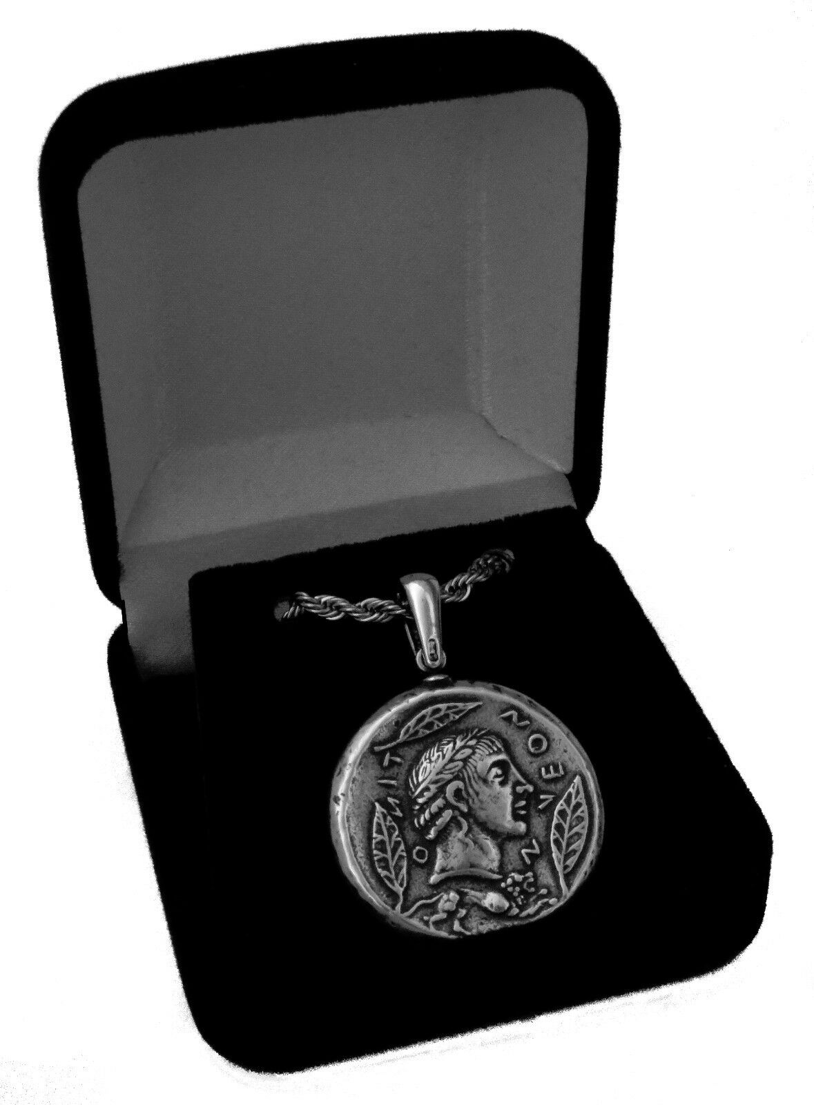 Percy Jackson Necklace, APOLLO / Charioteer, Pendant & Chain,God of the Sun,27-S