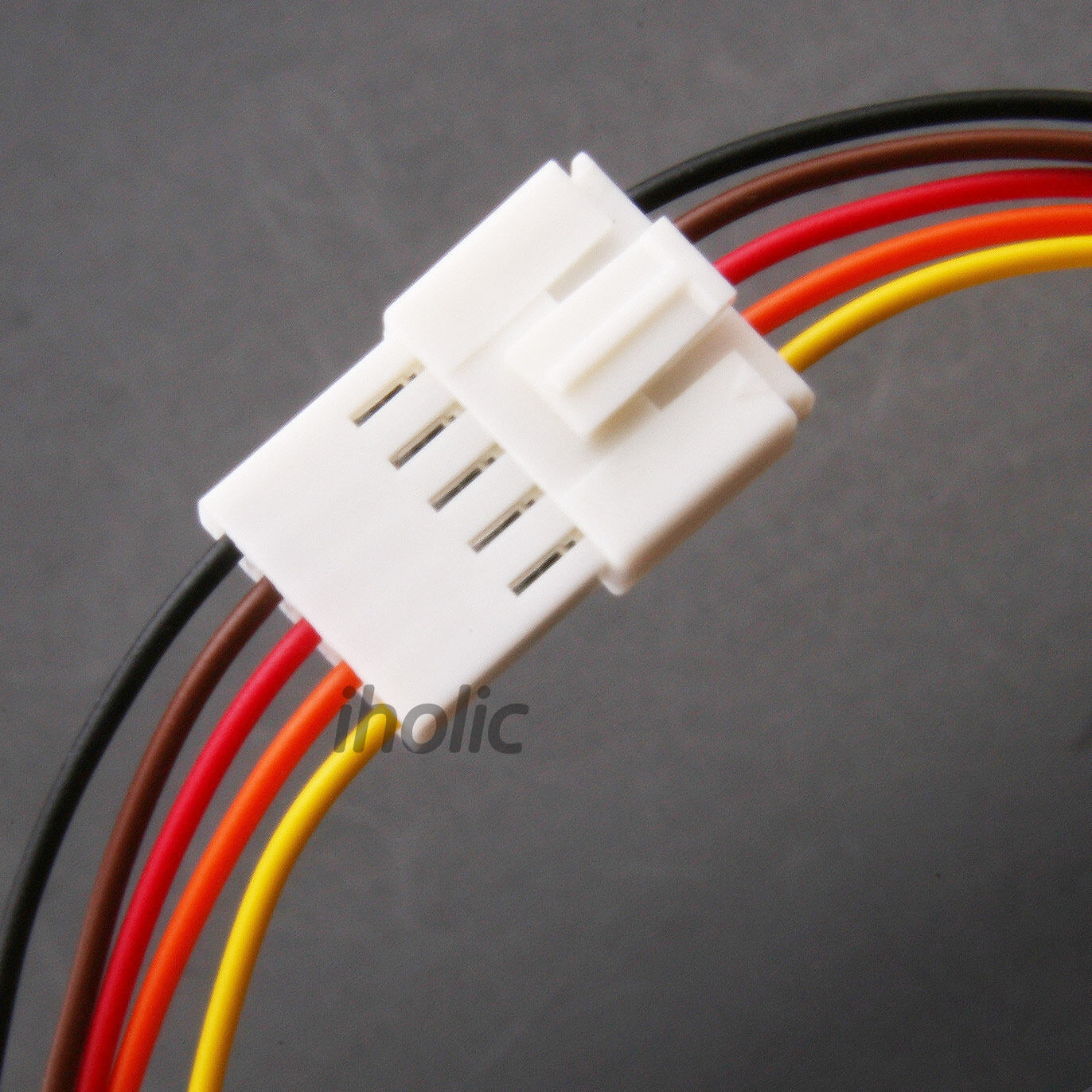 1pcs Small 5 pin terminal lead wire harness - Jack and Plug 5 Pin Wire &