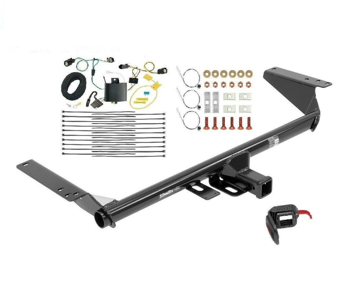 fits 2017 2018 chrysler pacifica touring l, l plus trailer hitch  1 of 4only 0 available