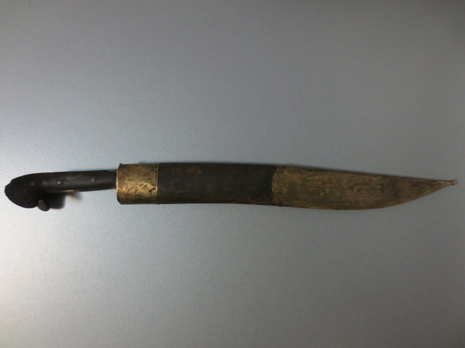 ANTIQUE Early 19th CENTURY OTTOMAN EMPIRE YATAGHAN LARGE DAGGER KNIFE ISLAMIC