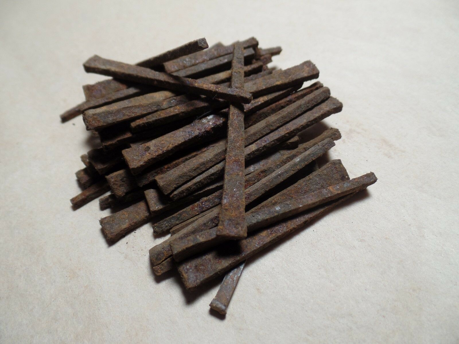 "Antique Square Nail 2.25"" Lot of 25"