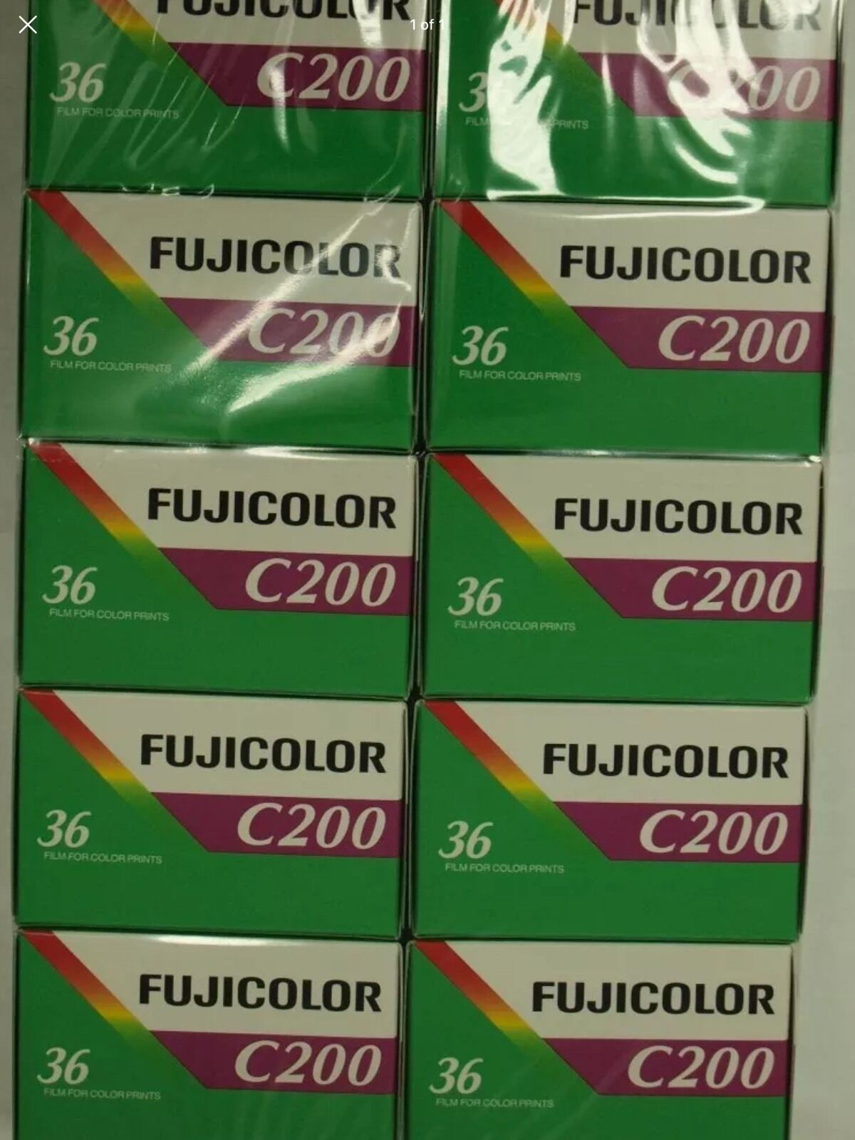 Fujicolor C200 Film 35mm Fujifilm 10 Rolls 36 Exp Color Print Fuji 2013 1 Of 1only 3 Available See More
