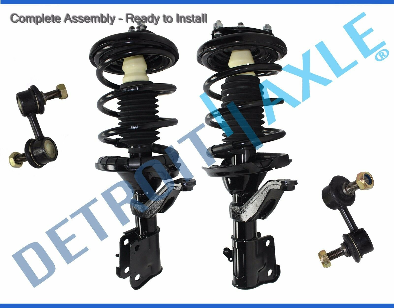 Acura El Honda Civic Front Strut Coil Spring Sway Bar Link 4pc Kit 1992 Prelude Stabilizer Arm 1 Of 3free Shipping