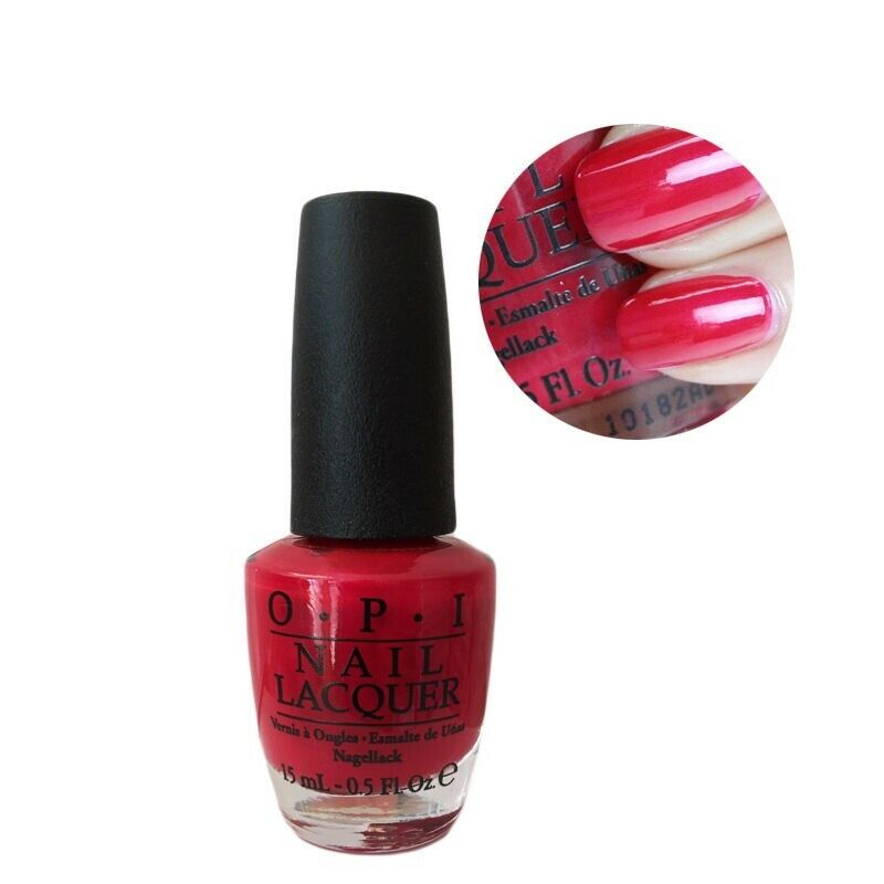 NEW OPI NAIL Lacquer Polish 0.5 oz 15 ml - Classic Colors OPI RED NL ...