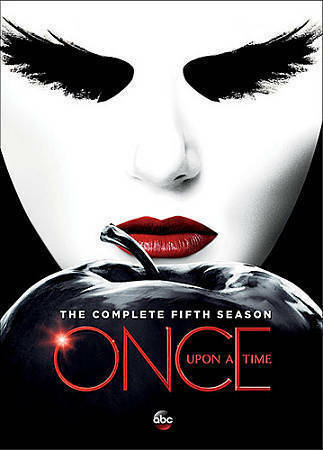 Once Upon A Time:The Complete Fifth Season 5 (DVD, 2016, 5-Disc Set) NEW