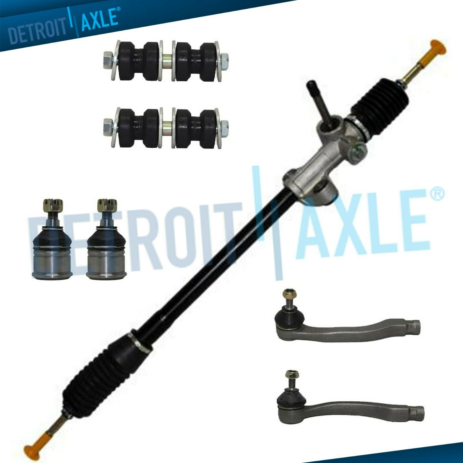 7pc complete new manual steering rack and pinion suspension kit for rh picclick com 2006 Acura TSX Specs 2005 Acura TSX