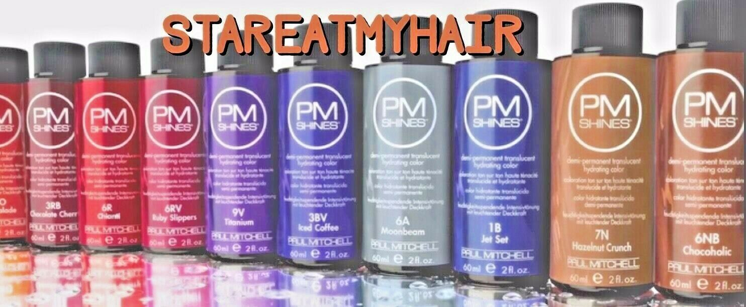 Paul Mitchell Pm Shines Demi Permanent Hair Color Pick Shade