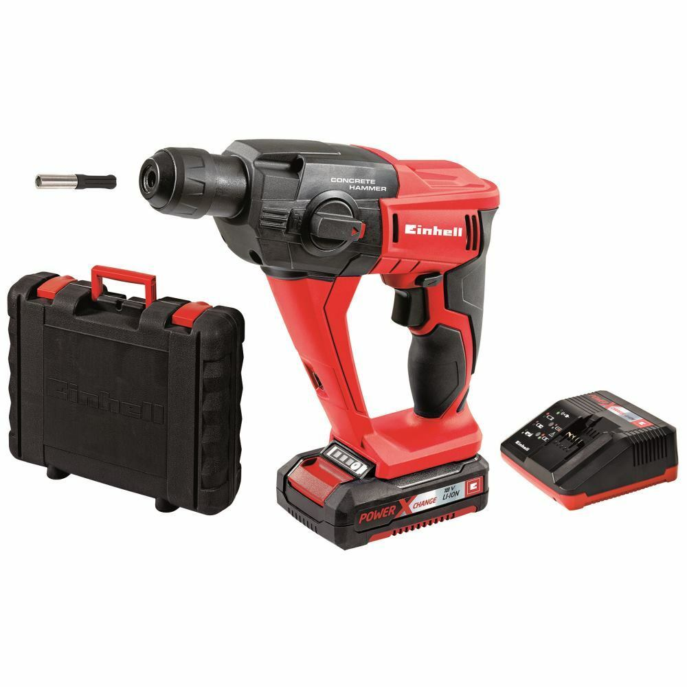einhell 18 v sds plus akku bohrhammer te hd 18 li kit. Black Bedroom Furniture Sets. Home Design Ideas