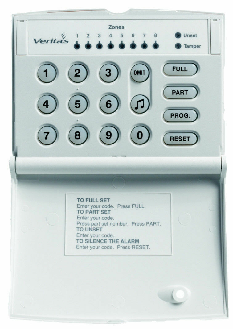 texecom veritas burglar alarm remote led keypad dca 0001 for v8 c8 rh picclick co uk veritas 8c alarm installation manual veritas 8c alarm installation manual