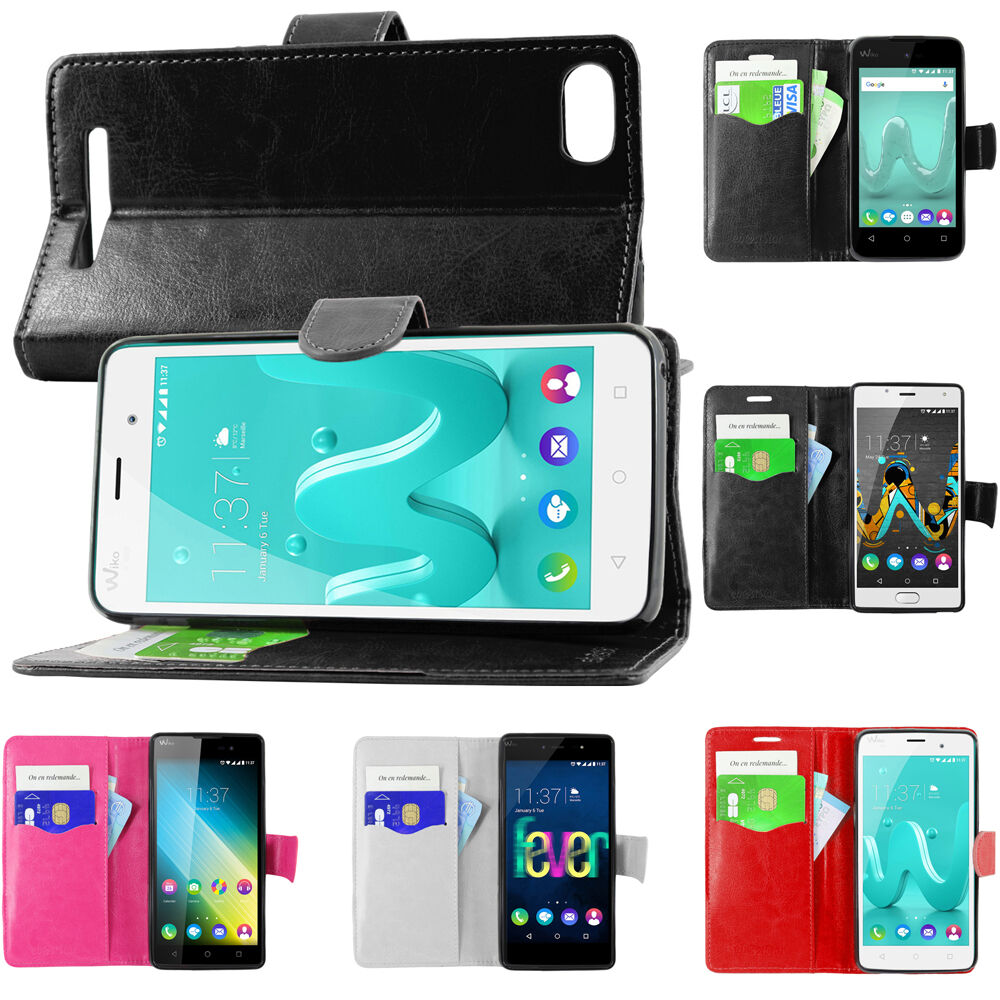 Housse portefeuille wiko lenny 4 plus tommy 2 plus sunny 2 for Housse wiko lenny 2