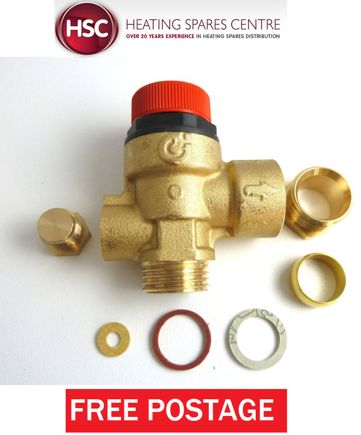IDEAL ISTOR He260 & He325 Central Heating Pressure Relief Valve ...
