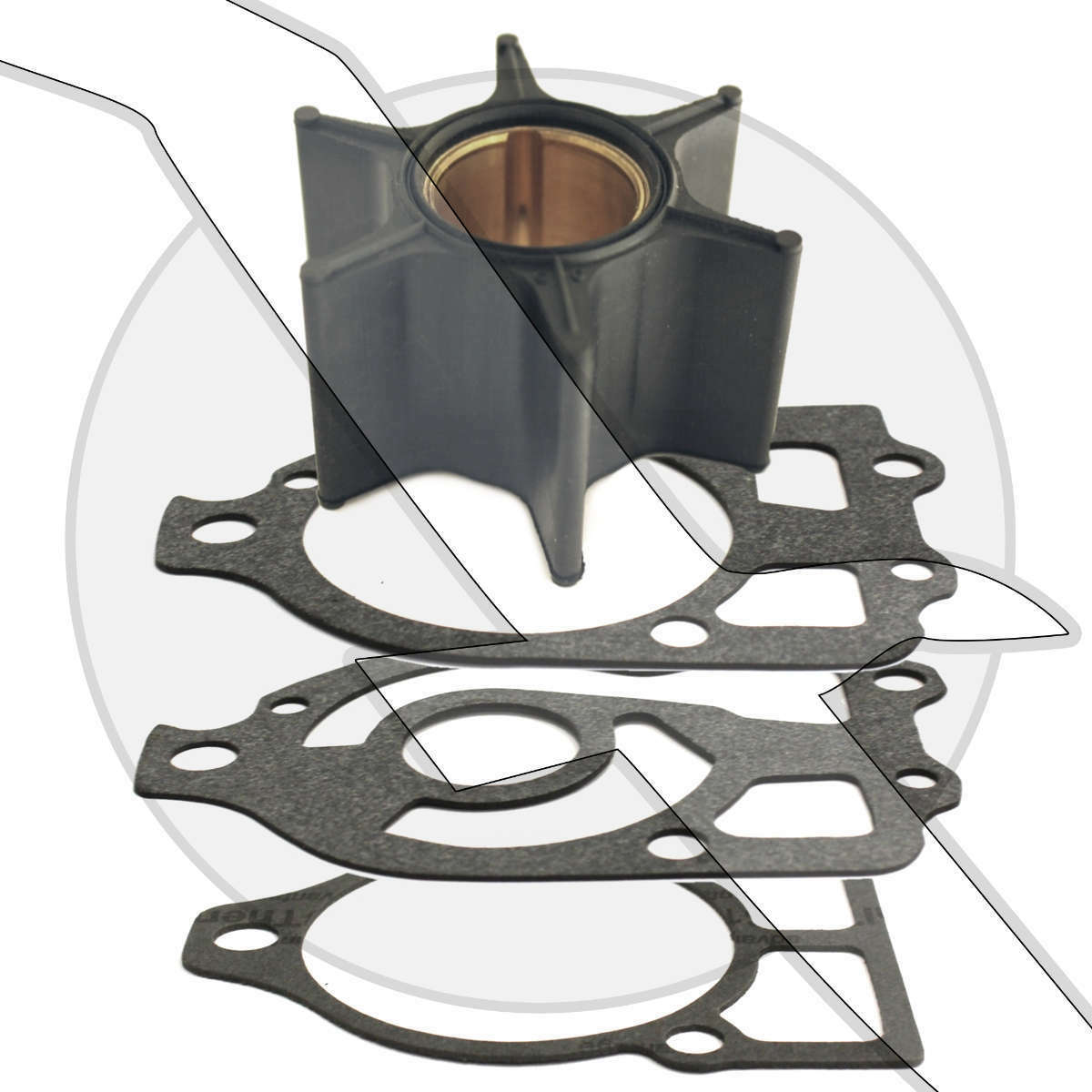 150hp Mercury Outboard Impeller Water Pump Service Repair Kit 47-89984 1 of  3FREE Shipping ...