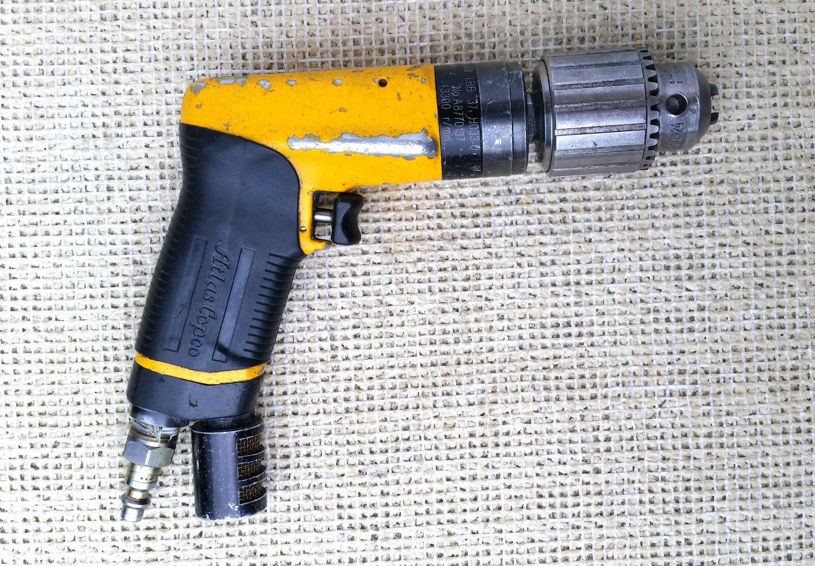 Atlas Copco Lbb37 Air Drill Motor With 1 2 Jacobs Chuck