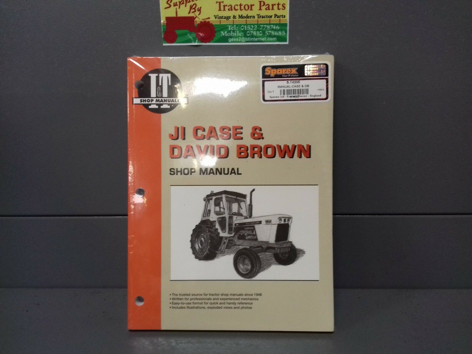david brown 885 tractor manual