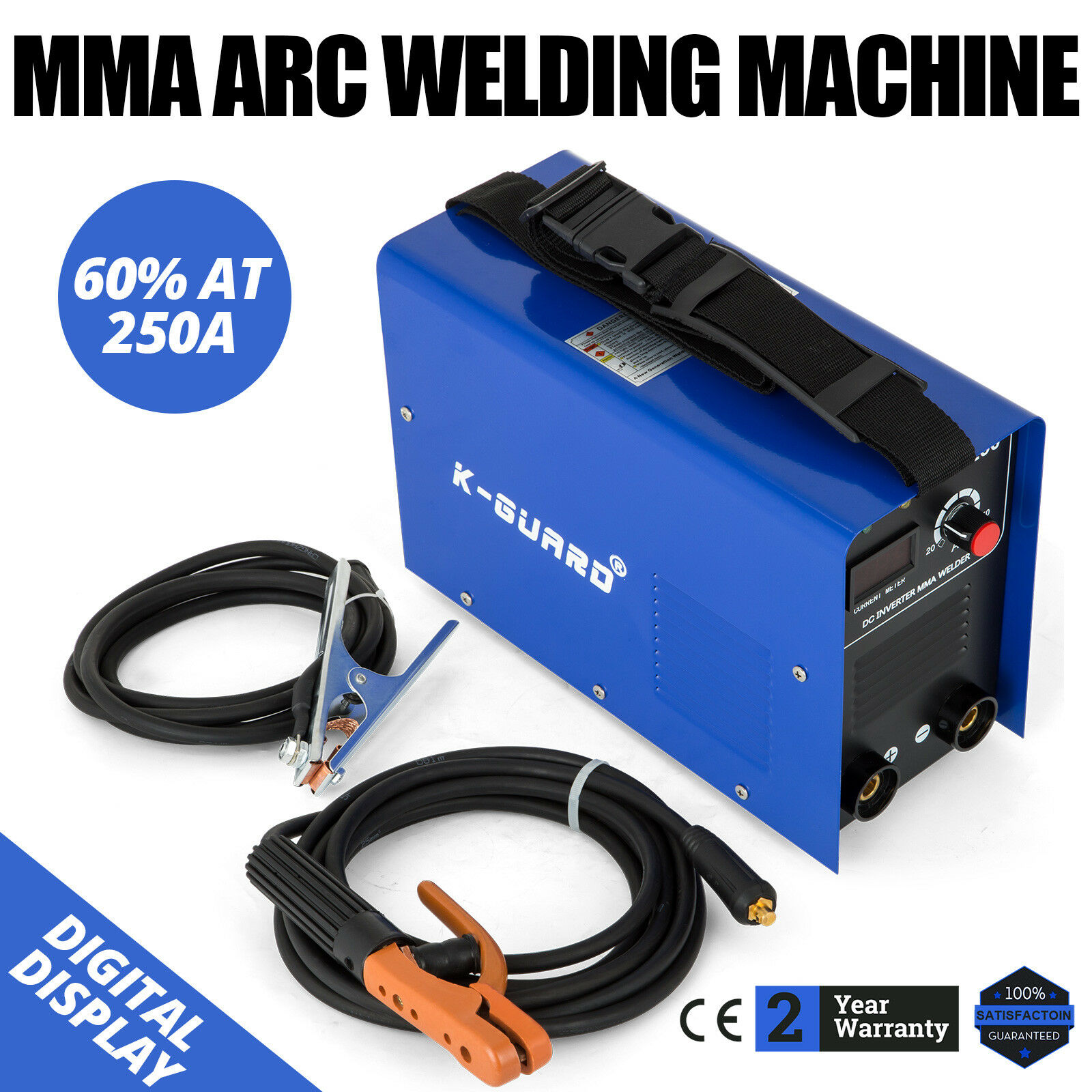 Vevor Mma 250 Arc Stick Welder Dc Inverter Welding Machine Igbt Mode Schematic On 250a 230v 1 Of 12free Shipping See More
