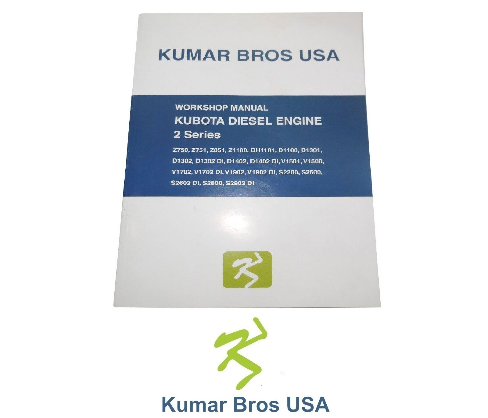 New Kubota D1302 Engine WORKSHOP MANUAL in 3 Languages ENGLISH, FRENCH,  GERMAN 1 of 7FREE Shipping See More