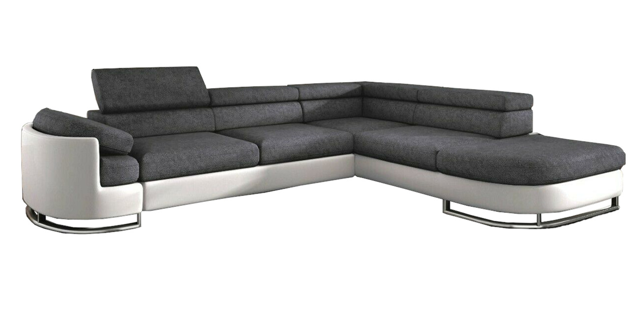 ecksofa mit schlaffunktion koko komfort beige eckcouch bettkasten couch eur picclick de. Black Bedroom Furniture Sets. Home Design Ideas
