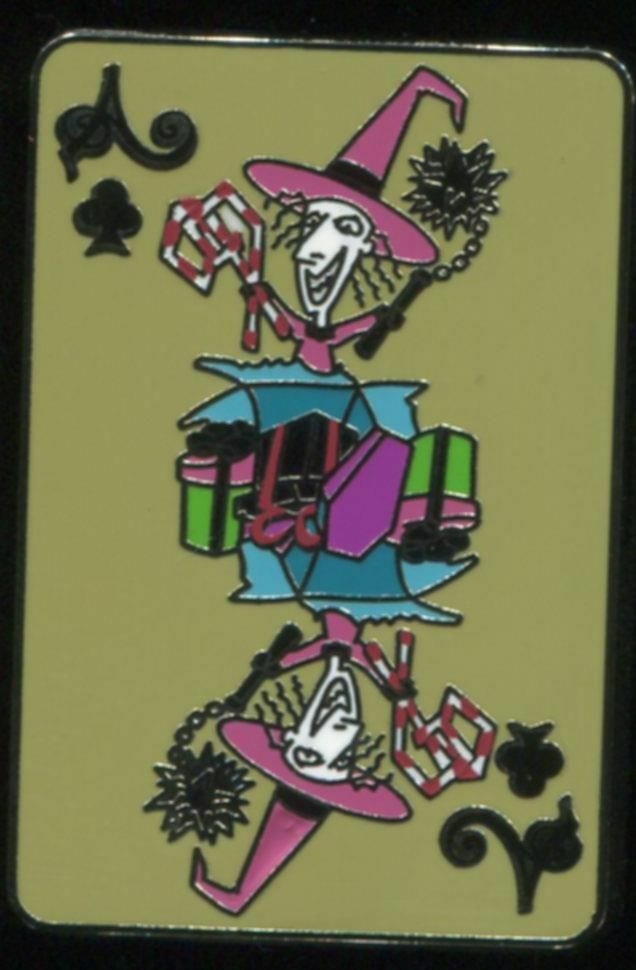 NIGHTMARE BEFORE CHRISTMAS Playing Card Mystery Shock Disney Pin ...