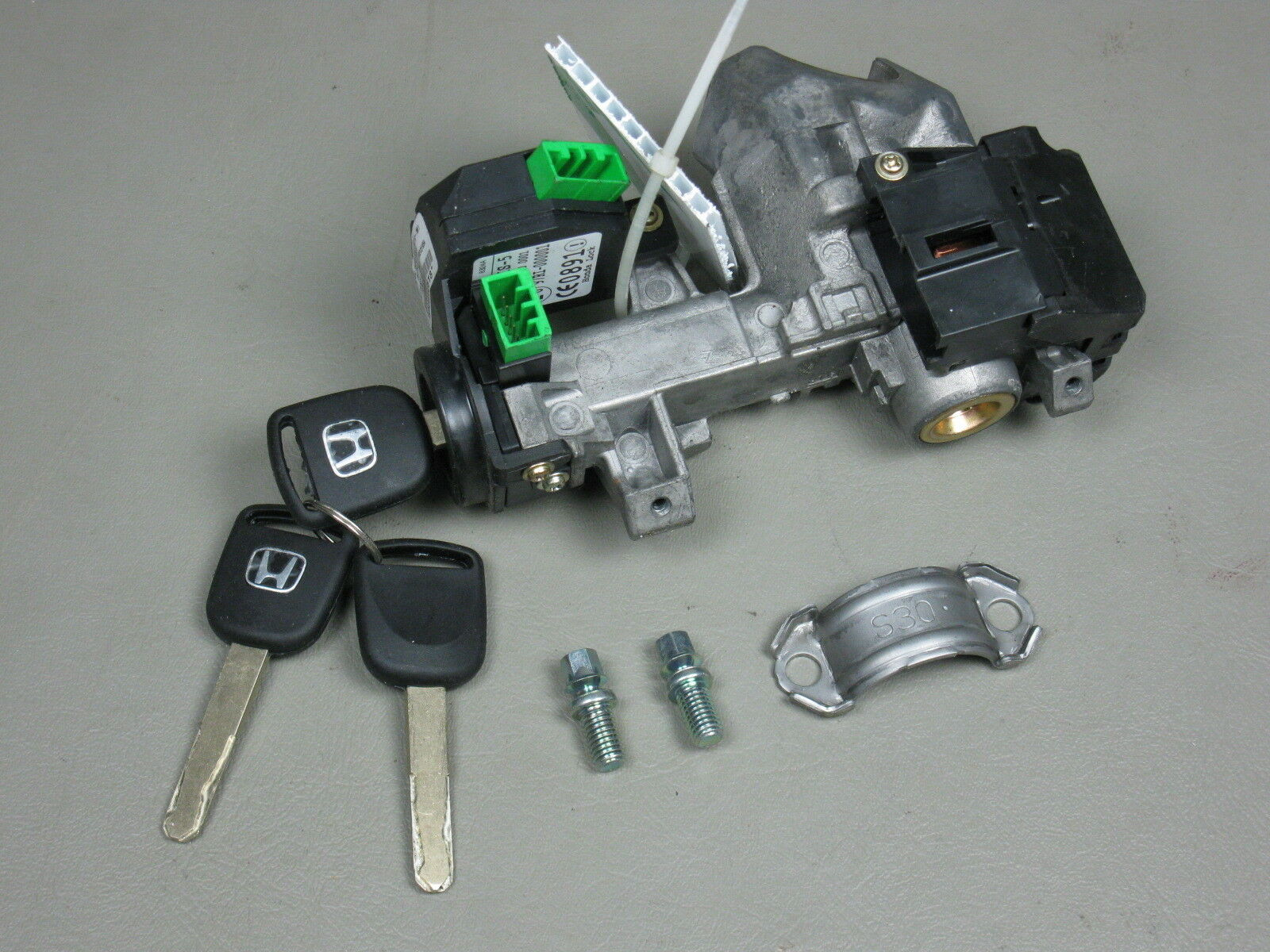 03 04 05 Honda Civic OEM Ignition Switch Cylinder Lock Manual Trans with 3  KEYs 1 of 2Only 3 available See More