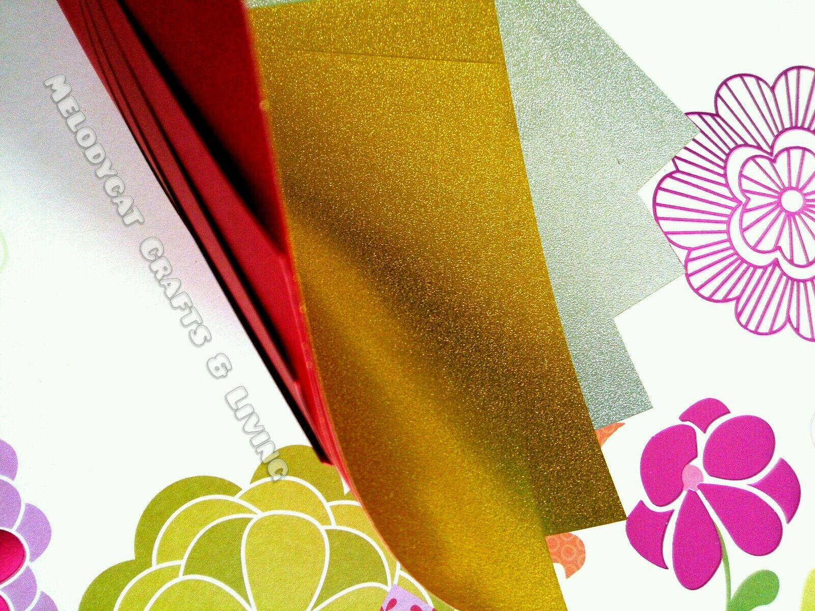 new doublesided thick craft scrapbook origami chiyogami