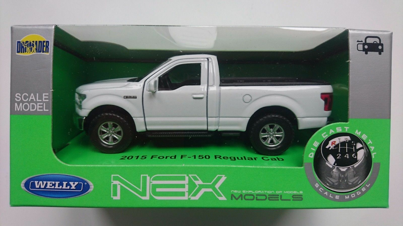Welly 2015 Ford F 150 Regular Cab White 134 Die Cast Metal Model 1 Of 4only 0 Available