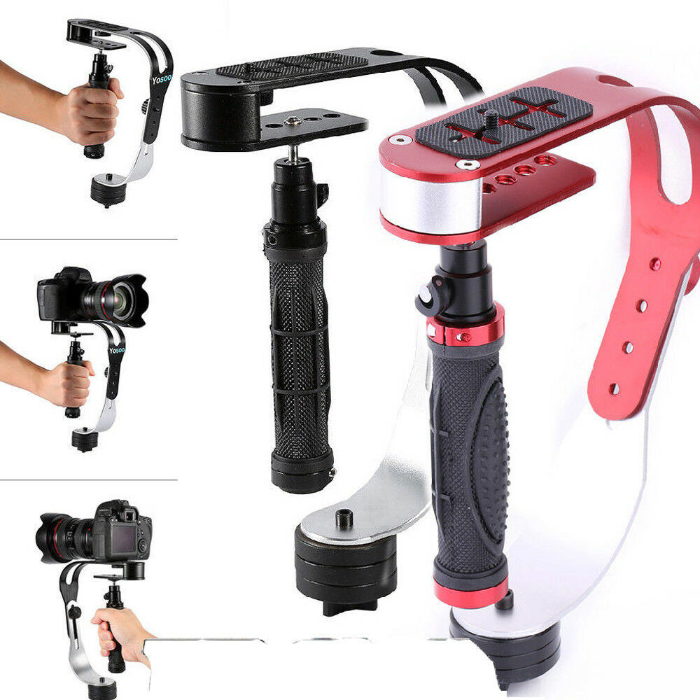Pro Handheld Video Camera Stabilizer Steady For Gopro Dslr Dv Slr Kamera Digital 1 Of 11free Shipping See More