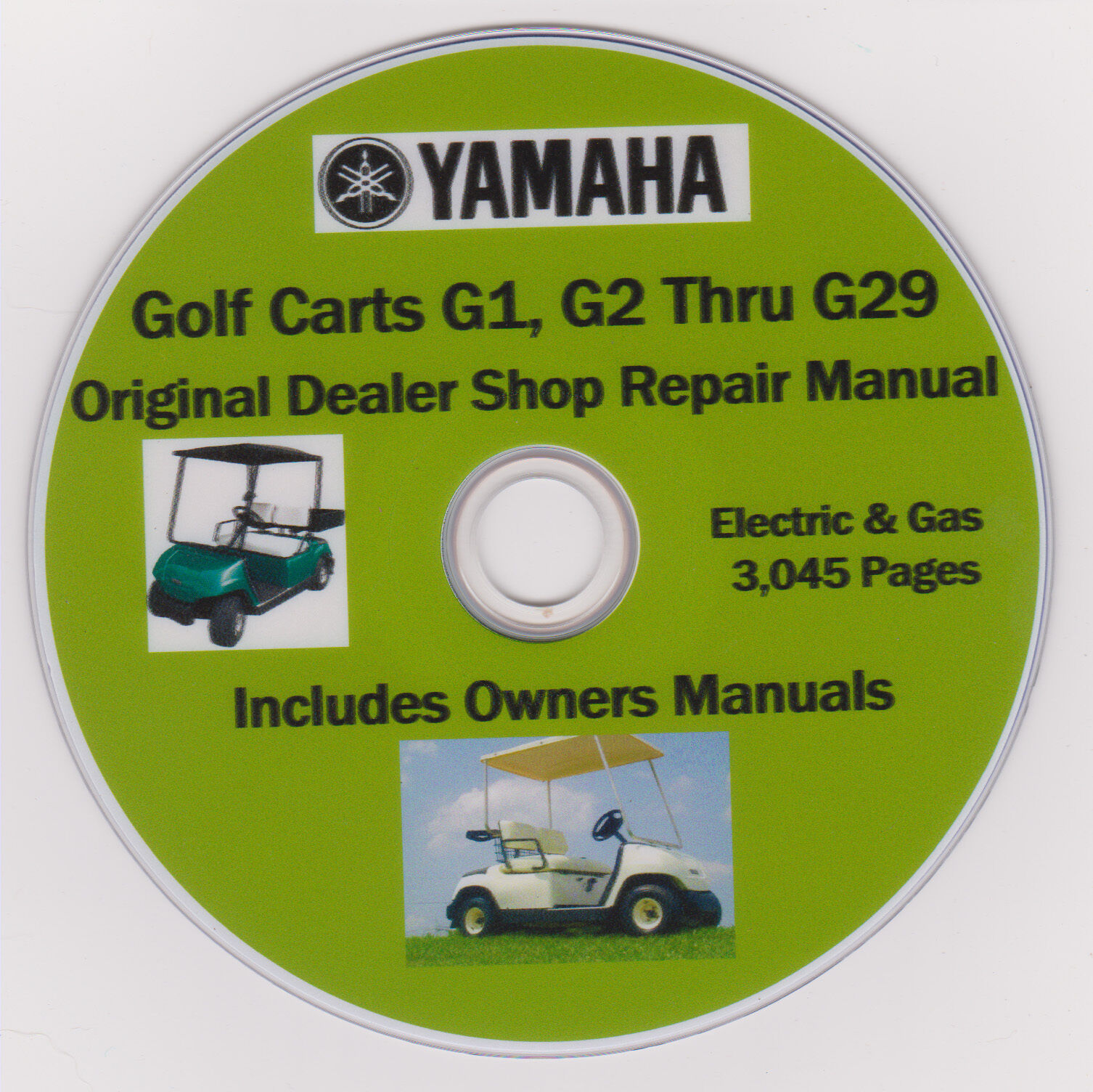 yamaha golf cart g1 thru g29 factory service repair shop rh picclick com Yamaha Drive Golf Cart Manual Yamaha Gas Golf Cart Governor