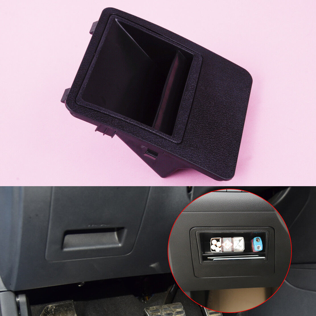 Car Center Console Fuse Box Storage Card Phone Holder For Hyundai 1 Of 3free Shipping