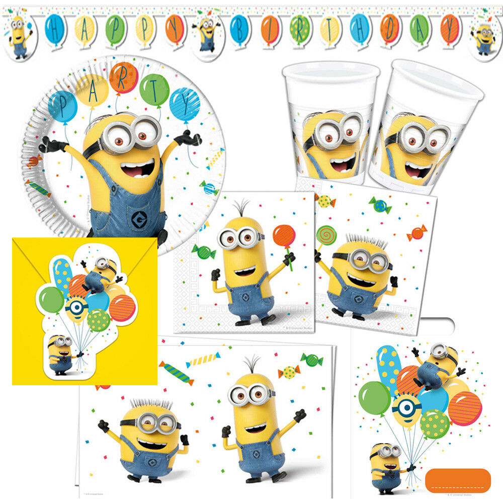 minions ballons kindergeburtstag auswahl deko party dekoration geburtstag neu eur 2 49. Black Bedroom Furniture Sets. Home Design Ideas