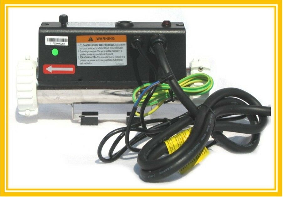 LX 3KW STRAIGHT Flow type H30-R1 spa tub heater H30R1 with Pressure ...