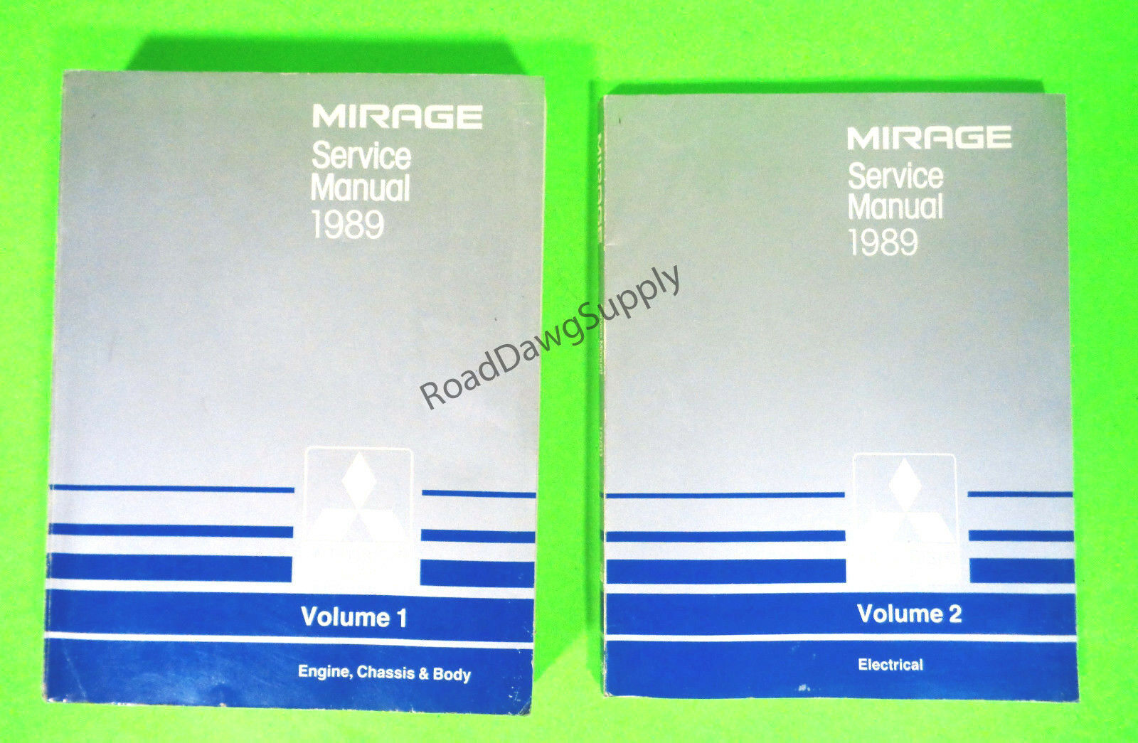 1989 Mitsubishi Mirage Service Shop Repair Manual Book Set 1 of 1Only 1  available ...